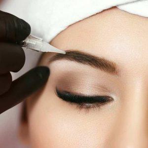maquillage permanent sur sourcils, lèvres et yeux à Marseille